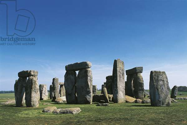 UK, England, Wiltshire County, Megalithic monument of Stonehenge