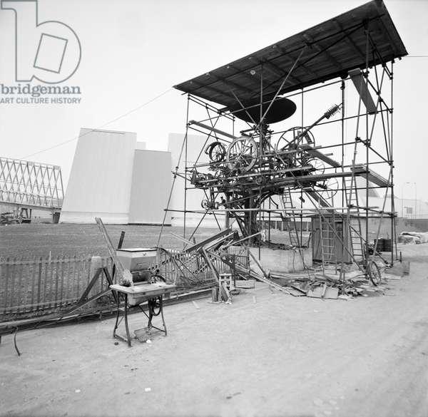 Switzerland Lausanne Expo 64, 1963 (b/w photo)
