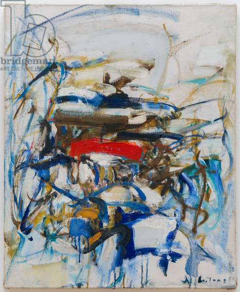 Untitled, 1951-1961 (oil on canvas)