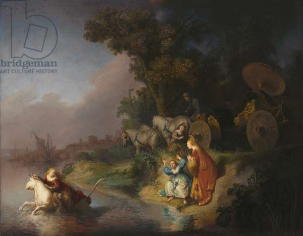 The abduction of Europa, 1632 (oil on single oak panel)
