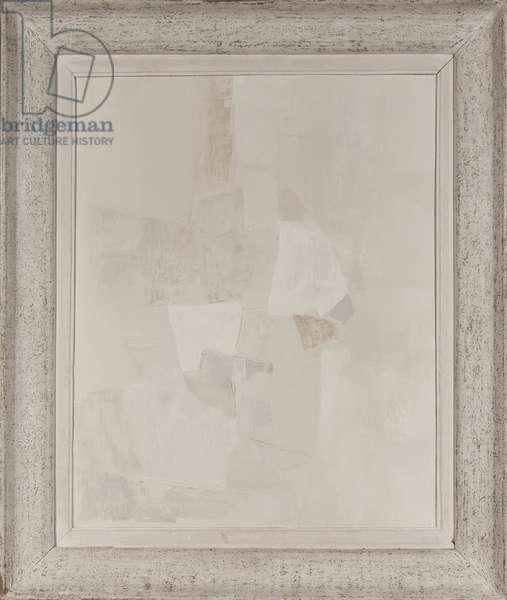 Marais House, 2011 (collage on canvas)