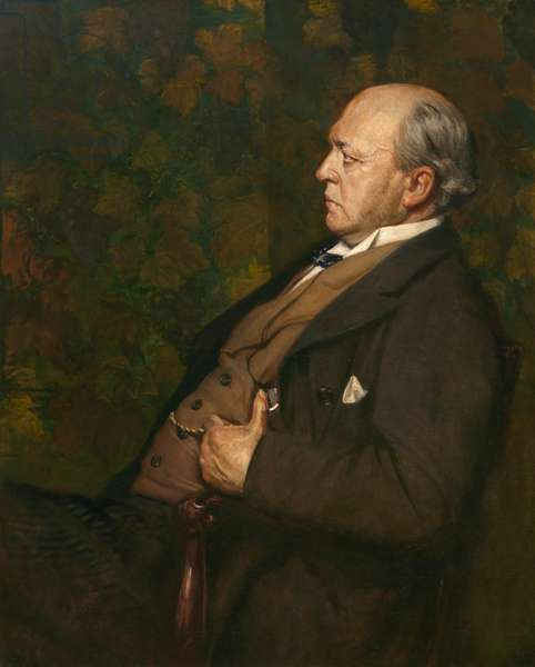 Henry James (1843-1916), 1908 (oil on canvas)