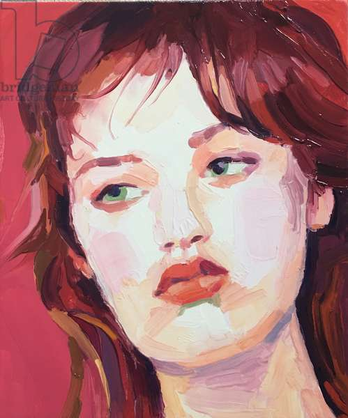 'Linger', 2018, (oil on canvas)