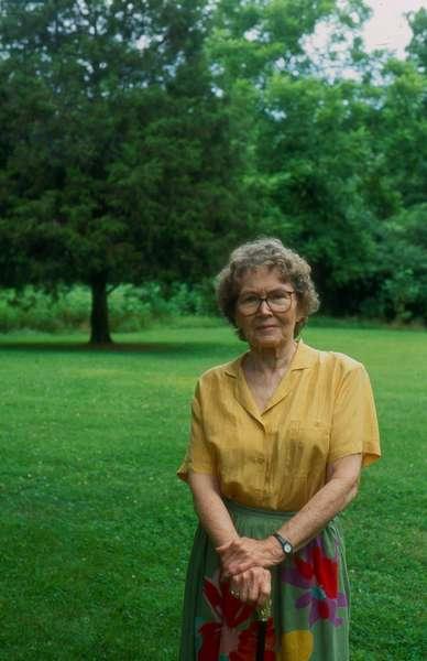 American writer Ellen Douglas in 1992