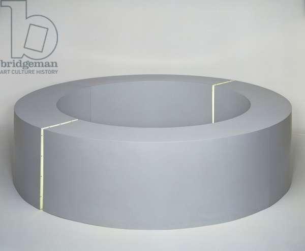 Untitled, 1965-66 (fiberglass & fluorescent light)