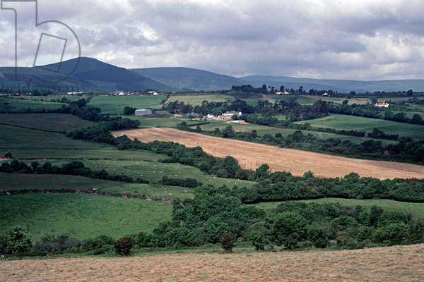 Wicklow Mountains,  referred to by James Joyce in 'Finnegans Wake', Ireland (photo)