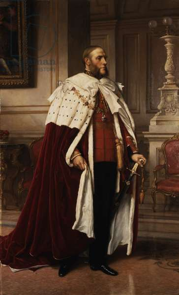 Portrait of Henry, 7th Duke of Northumberland, 1908 (oil on canvas)