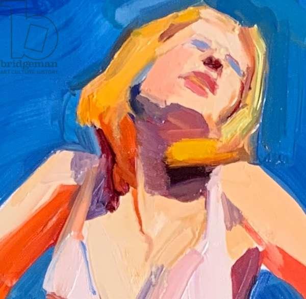 'Surge', 2020, oil on canvas