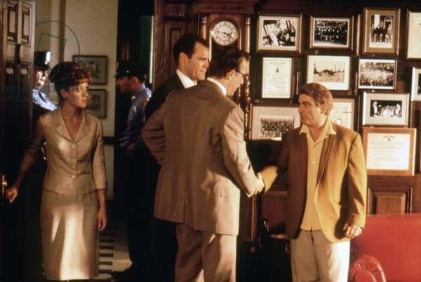 Jay O. Sanders, Kevin Costner And Joe Pesci.
