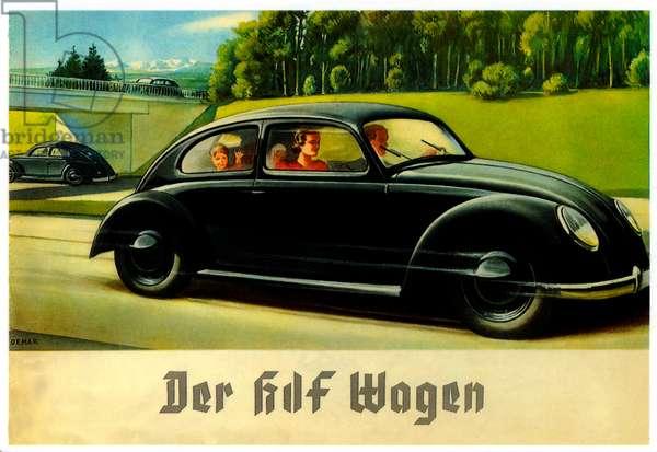 Volkswagen Advertisement, 1930s