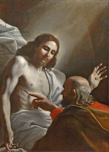 The Incredulity of St Thomas (oil on canvas)