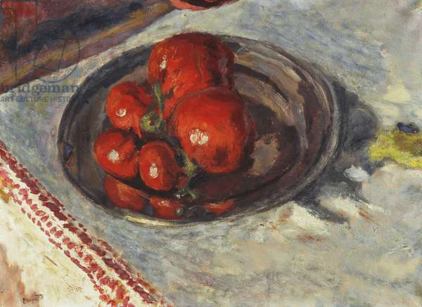 Tomatoes; Tomates, c.1924 (oil on paper laid down on canvas)