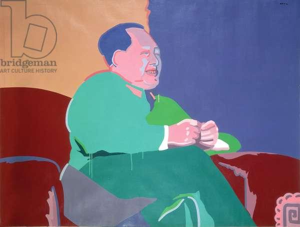 Leader, 1992 (acrylic on canvas)