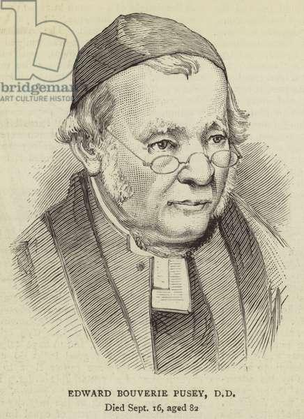 Edward Bouverie Pusey, DD (engraving)