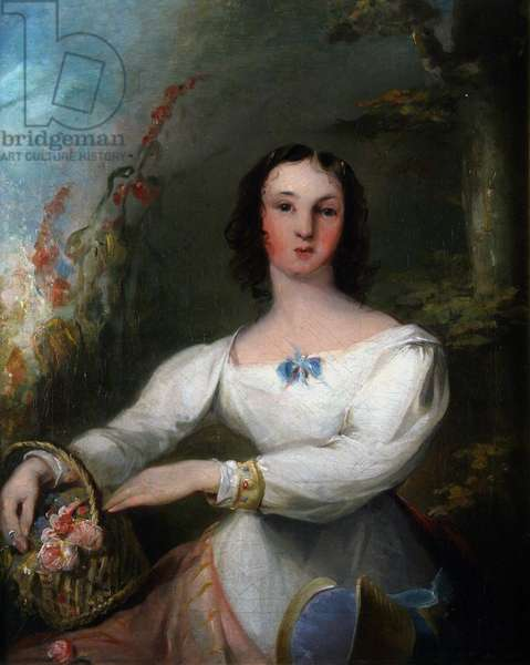 Portrait of Lady Belgrave (oil on canvas)