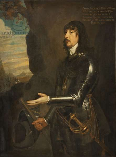 Portrait of James Stanley, Seventh Earl of Derby (oil on canvas)