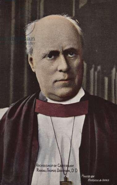 Archbishop of Canterbury, Randall Thomas Davidson, DD (photo)