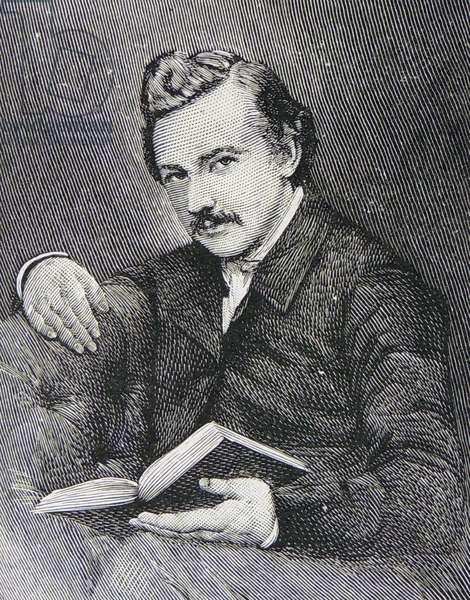 Novelist Thomas Hardy, 1928 (engraving)