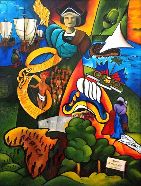 Hope at Sunrise, 2007 (acrylic on canvas)