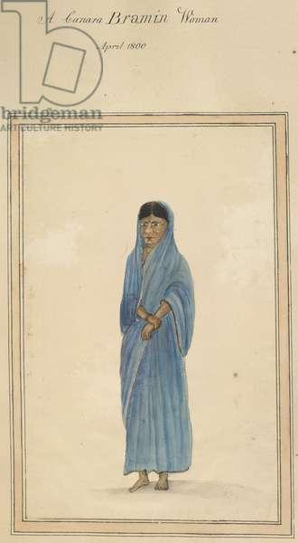 A Canara Bramin Woman