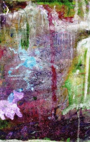 Glitter Pony, 2000, (mixed media on paper)
