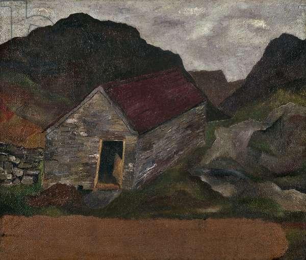 Welsh Landscape, 1939 (oil on canvas)
