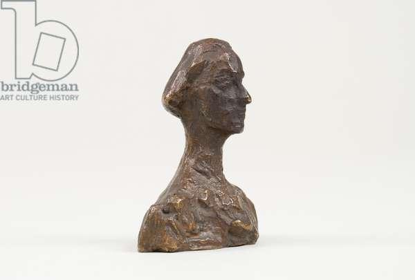 Bust of Ottilia, c.1937-39 (bronze)