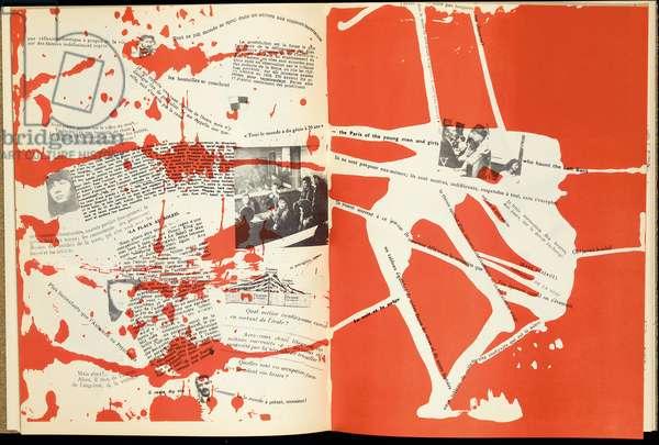 'Mémoires', Structures portantes d'Asger Jorn, Copenhague: l'Internationale Situationniste, 1959 (colour litho)