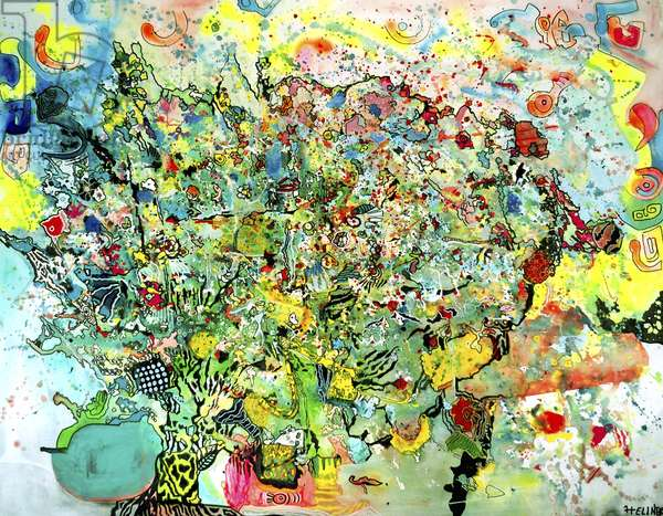 Apple tree, 2009 (acryl on canvas)