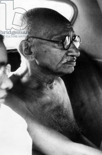 Mahatma Gandhi, ca 1947