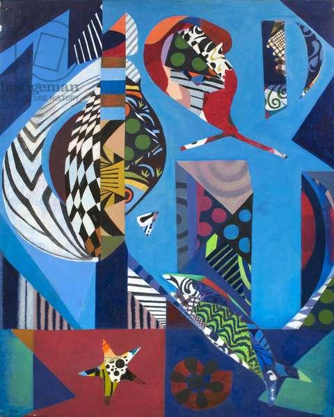 The Catch, 1978 (acrylic on canvas)