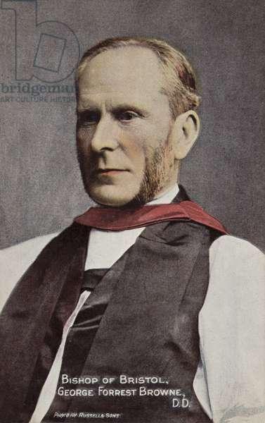 Bishop of Bristol, George Forrest Browne, DD (photo)