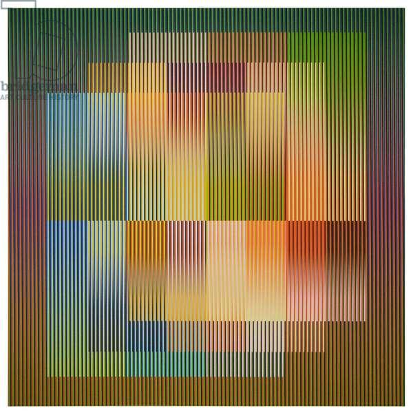 Couleur Additive Frankfurt C, 2008 (chromography on paper)