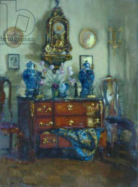 Blue and gold, 1911 (oil on canvas)