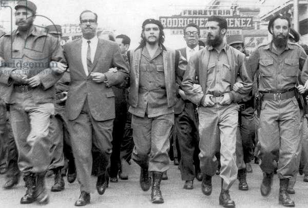 Fidel Castro and Osvaldo Dorticós