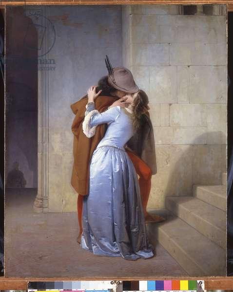 The Kiss, 1859 (oil on canvas)