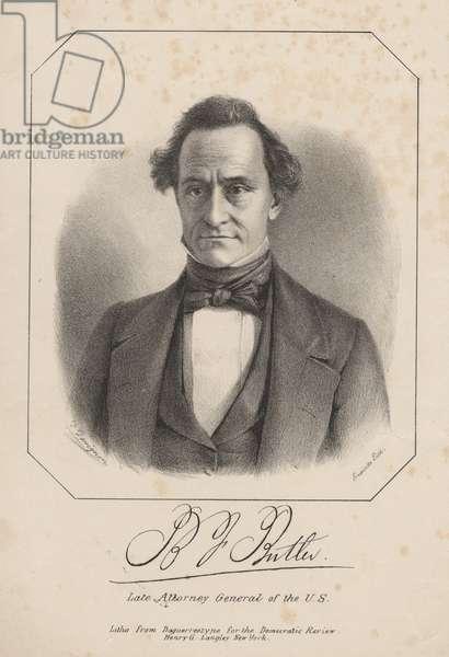 B.J. Butler, litho by Henry G. Langley, 1840 (litho)