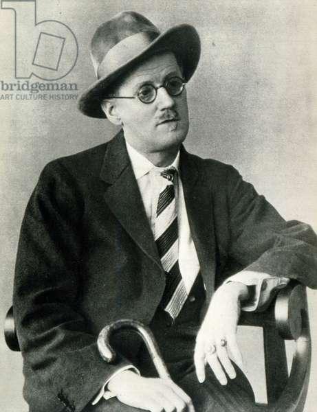 James Joyce portrait Irish