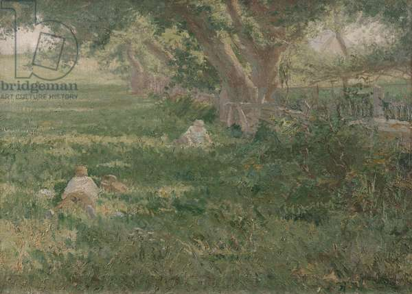 Springtime, 1901 (oil on canvas)