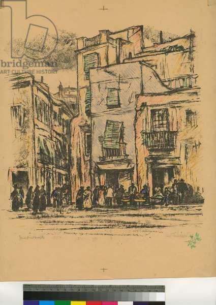 Seville, 1914 (litho)