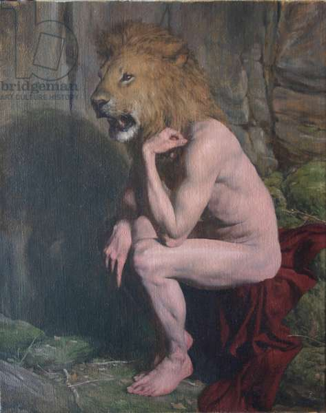 Lion Man, 2006 (oil on canvas)