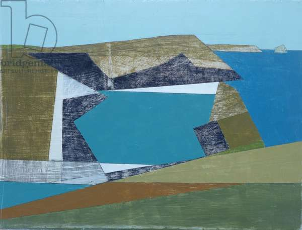 Harbour Cliff, 2014 (acrylic on plywood)