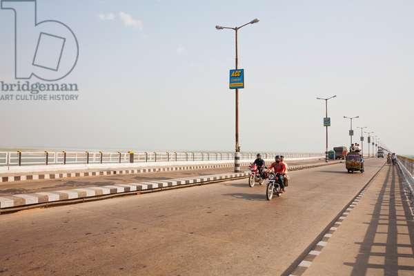 Mahatma Gandhi Seti (Bridge), Patna, Bihar, India (photo)