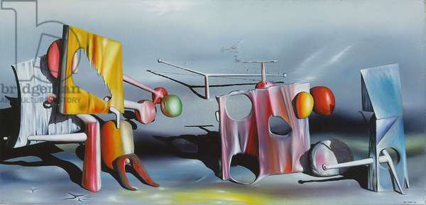 Reply to Red, 1943 (oil on canvas)