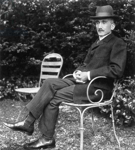 HENRI BERGSON (1859-1941) French philosopher. Photographed c.1905.