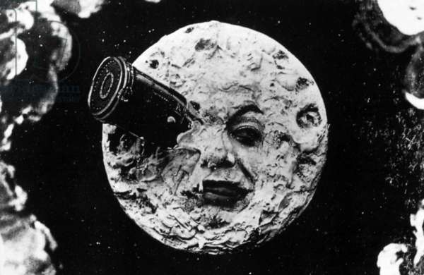 A Trip to the Moon, 1902 (photo b/w)