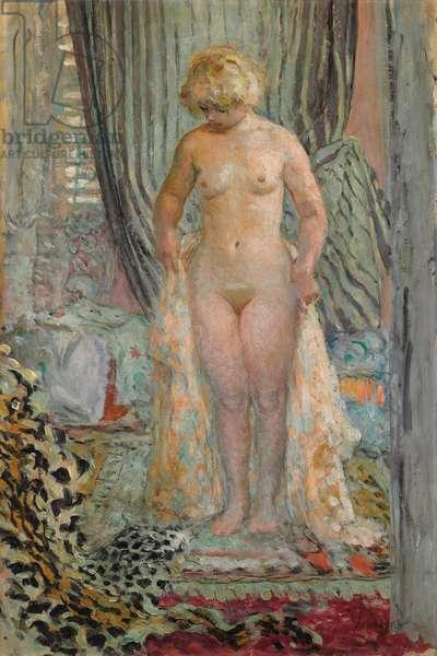 Female Nude (oil on canvas)