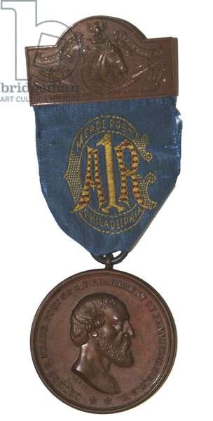 Medal of the GAR George Meade Post, Philadelphia