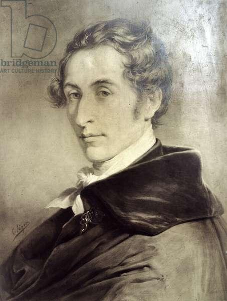 Carl Maria von Weber, composer.