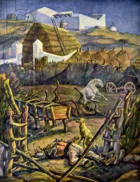 Spanish civil war: Desolation in Campina Andaluza